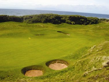 western-gailes-golf-club-ayrshire-deep-bunkers