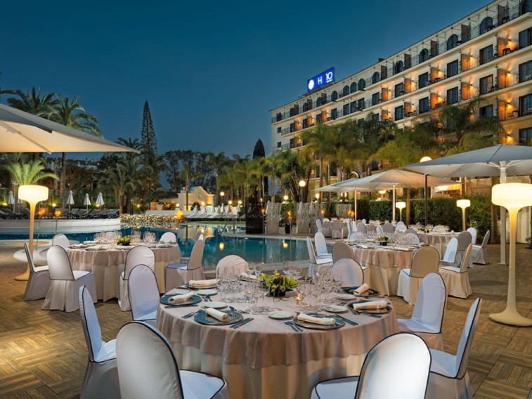 Book a golf holiday to h10 andalucia plaza marbella - Hotel h10 andalucia plaza marbella ...