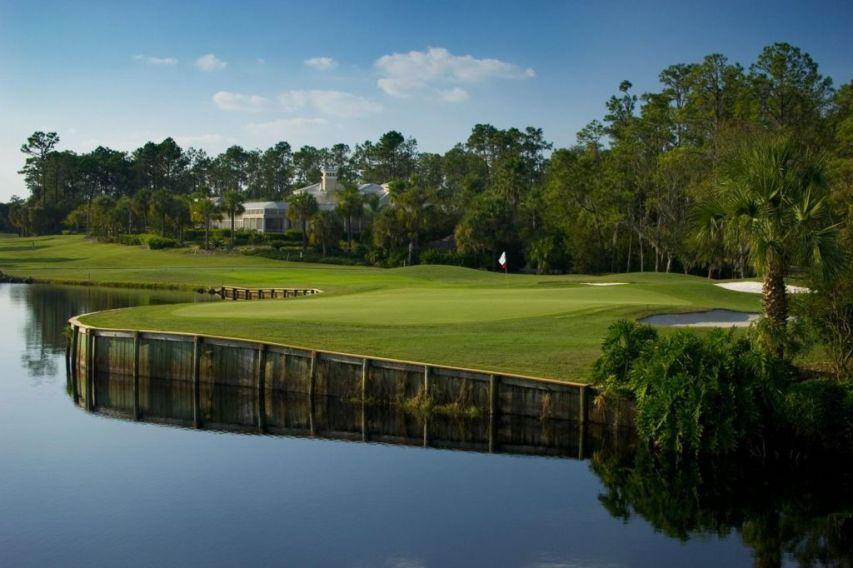 Palmer course at saddlebrook golf resort tampa book a for Saddelbrook