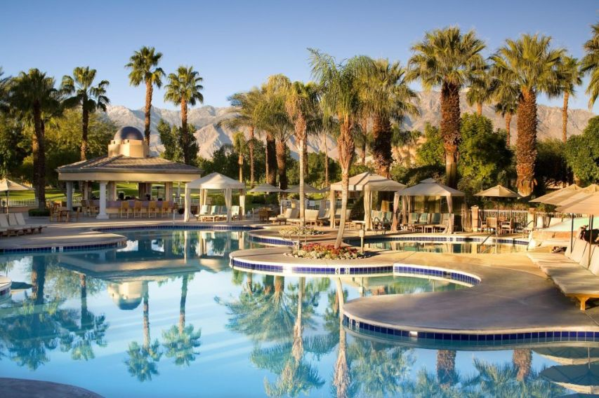The westin mission hills golf resort and spa palm springs for Villas california