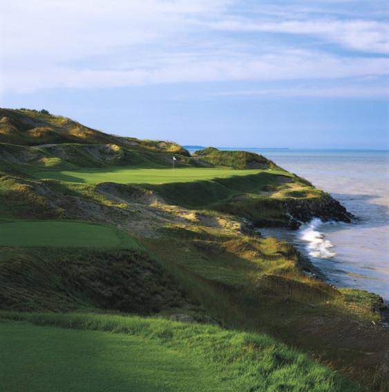 Irish Course At Whistling Straits Golf Club Kohler Book