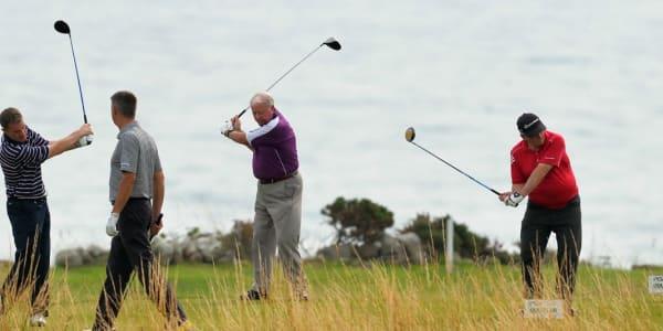 Golf-Warum-up