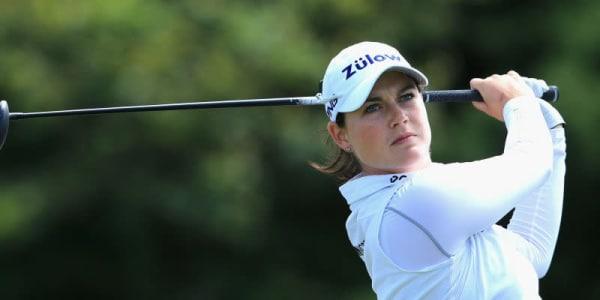 Caroline Masson hat die Spitze des Feldes bei dem Ladies Masters in Dubai fest im Visier. Aber auch Elisabeth Esterl liegt in guter Position vor dem Wochenende. (Foto: Getty Images)