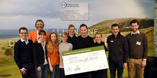Der Erlös aus dem Nord-Süd-Schlager kam dem Eagles Charity Golf Club zu Gute. (Bild: Golftage München)