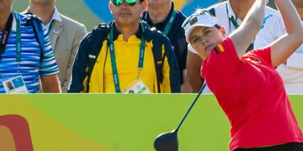 Caroline Masson mit starker Leistung bei Olympia 2016 - wenn da nicht das das Doppelbogey gewesen wäre. (Foto: DGV)