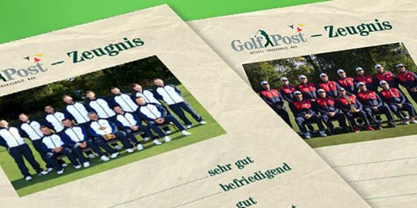 Wer ist Klassenprimus, wer durchgefallen. Golf Post vergibt die Noten an 26 Ryder-Cup-Akteure. (Foto: Golf Post)
