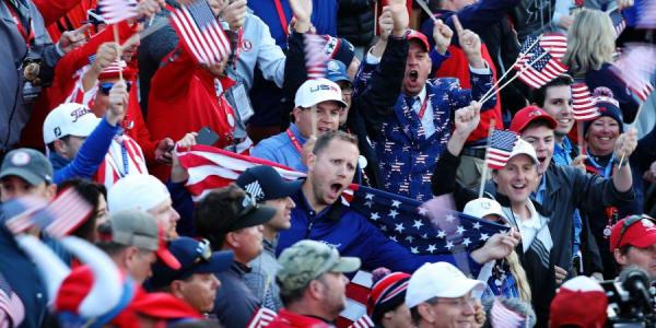 Das Verhalten der Fans in Hazeltine ist nicht mehr tolerierbar und die PGA of Amercia spricht ein Machtwort. (Foto Getty)