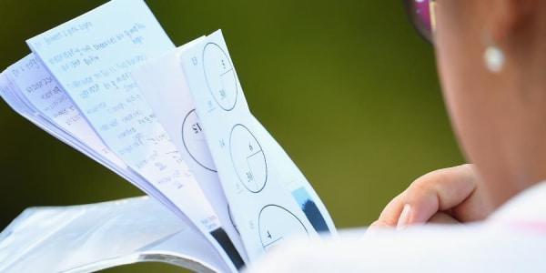 Eine intensive Studie der Pinpositionen kostet viel Zeit und führt allzu häufig zu unerwünschtem Slow Play.