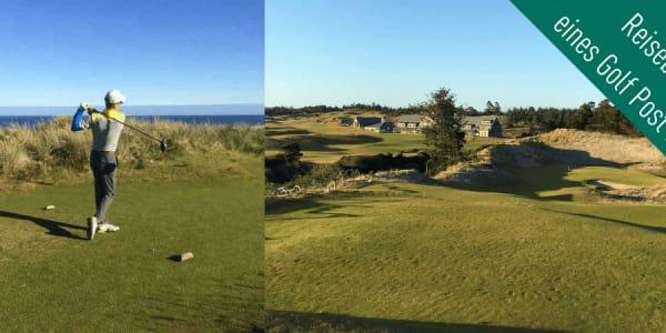 Golf Post Leser Rainer Veith spielte auf seiner 72-Loch-Tages-Challenge einen der prestigeträchtigsten Golfplätze Amerikas, Bandon Dunes, und berichtet bei Golf Post ausführlich über seine Eindrücke. (Foto: Rainer Veith)