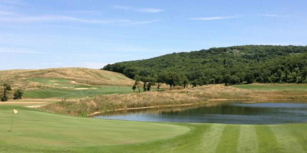 Golfreise Toskana: Hier zu sehen Royal Golf La Bagnaia. (Foto: Golf Post)