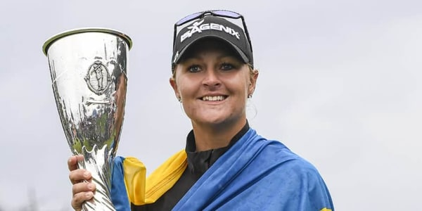 Evian Championship 2017 Finale Siegerin Anna Nordqvist