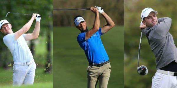 Alexander Knappe, Sebastian Heisele und Marcel Schneider spielen bei der Joburg Open mit. (Foto: Getty)