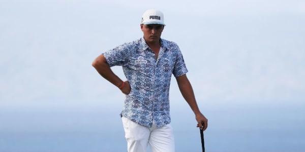 Rickie Fowler trägt die neue Aloha Kollektion von Puma Golf beim Tournament of Champions. (Foto: Getty)