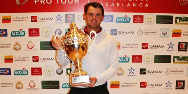 Liam Johnston ist der glückliche Sieger der Open Prestigia. (Foto: Pro Golf Tour)