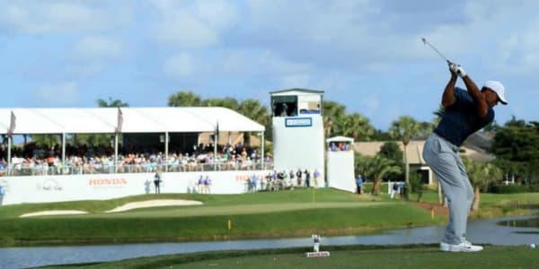 Tiger Woods steht bei der Honda Classic auf der PGA Tour kurz vor der Top 10. (Foto: Getty)