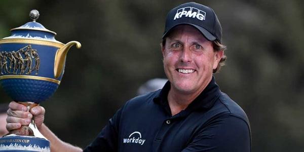 Phil Mickelson gewinnt die World Golf Championship in Mexiko. (Foto: Getty)