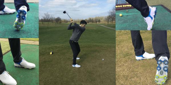 Der FootJoy Tour S hat unseren Golf Post Redakteur Yannick Siegers bis über die Maße überzeugt. (Foto: Golf Post)