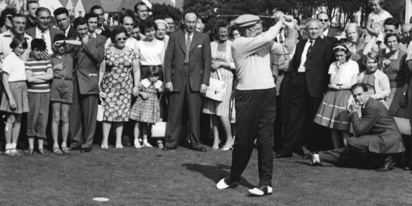 Dwight D. Eisenhower war als Präsident der USA ein Förderer des Augusta National GC (Foto: Getty)
