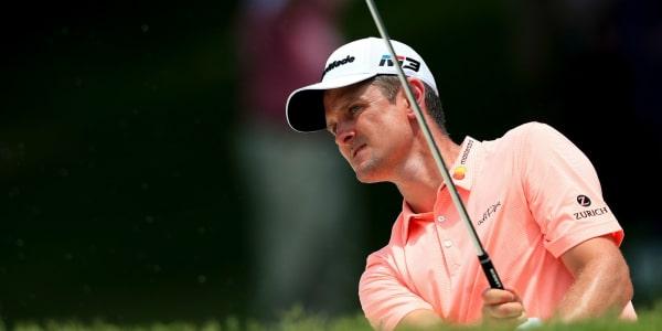 Justin Rose erarbeitet sich bei brütender Hitze einen Vier-Schläge-Vorsprung auf der PGA Tour. (Foto: Getty)