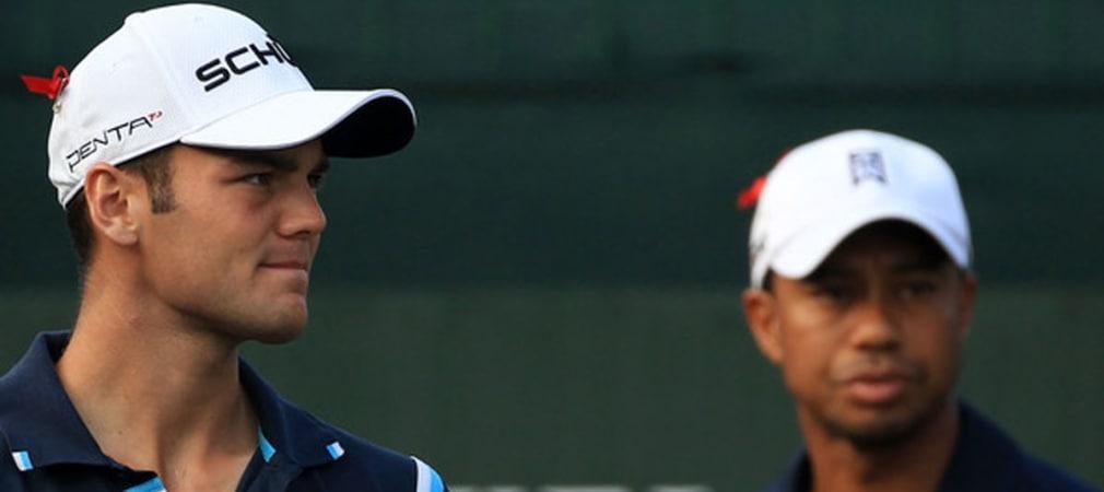 Martin Kaymer und Tiger Woods