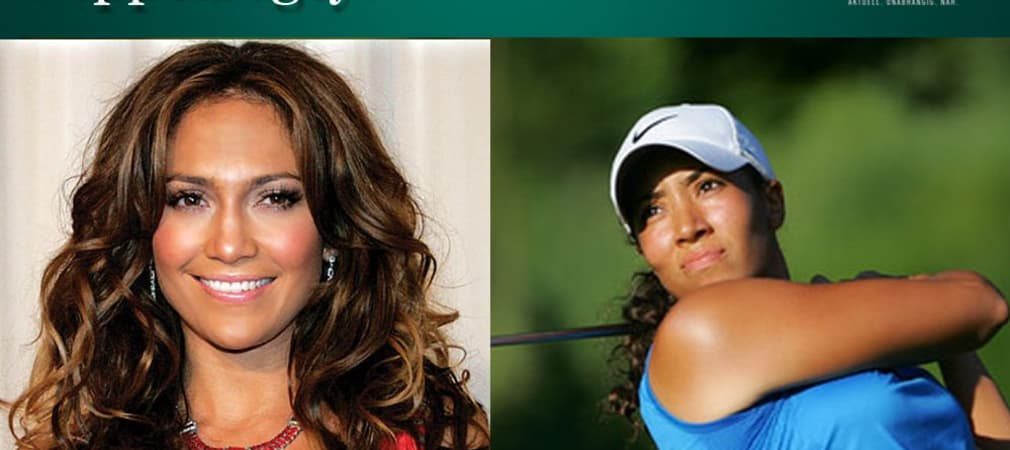 Jennifer Lopez Cheyenne Woods Golf