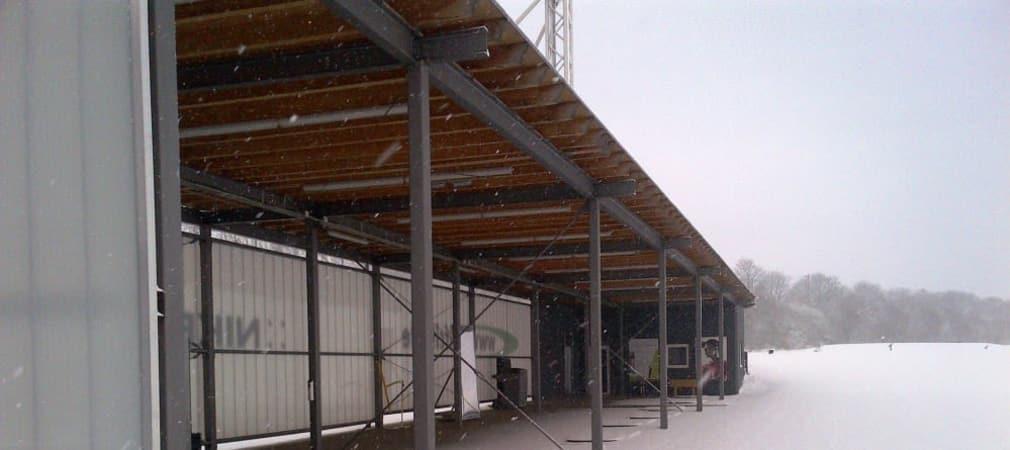 GolfCity Pulheim im Winter