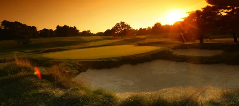 Merion Golf Club: Dichte Roughs umsäumen die engen Bahnen. (Foto: Getty)