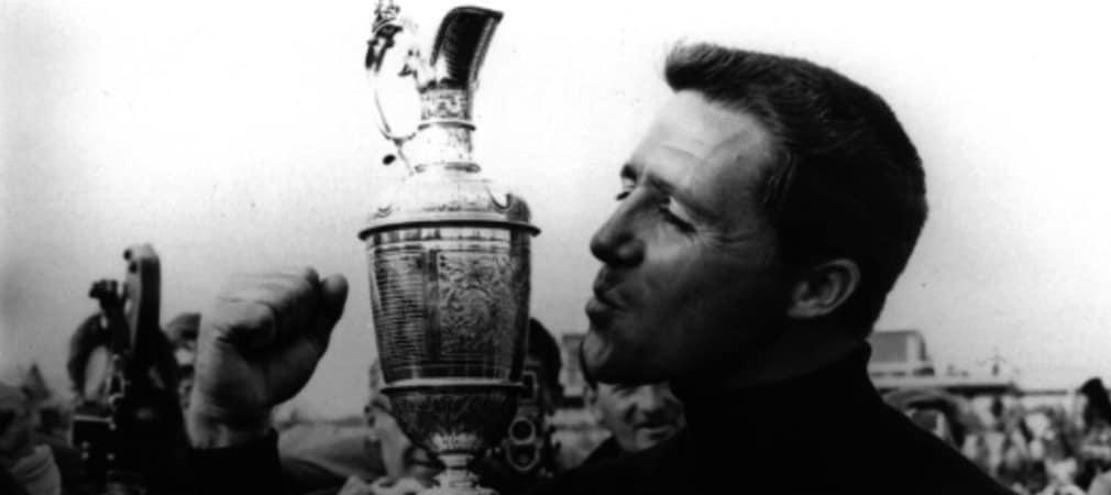 British Open Gary Player mit dem Claret Jug