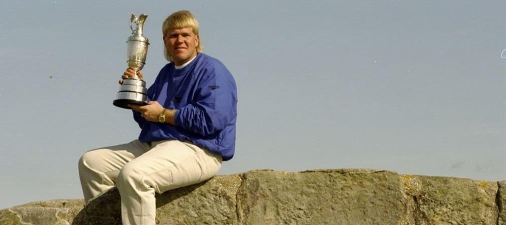 John Daly 1995 mit der Claret Jug. (Foto: Getty)
