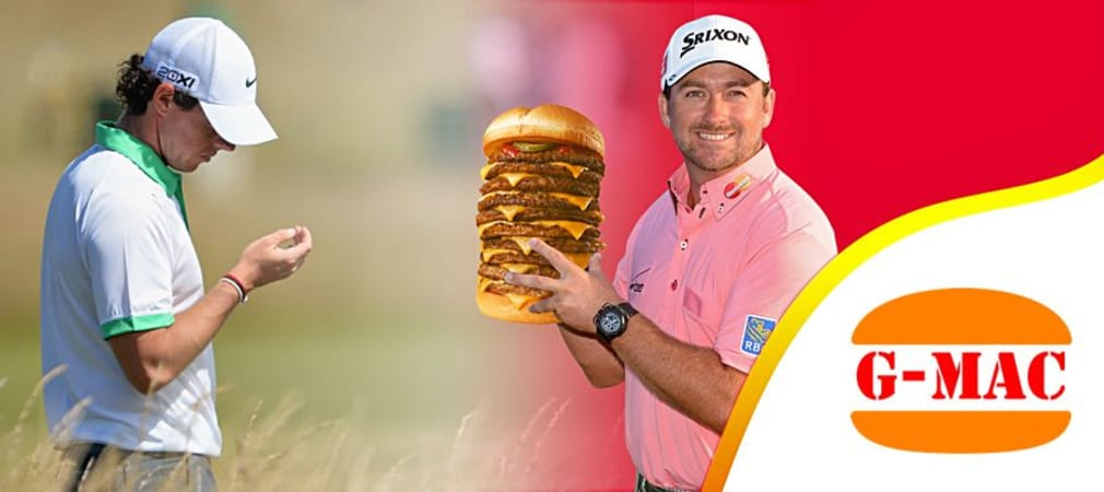 Greame McDowell und Rory McIlroy