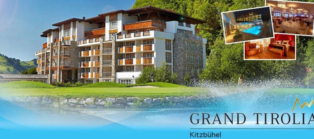 Das Grand Tirolia in Kitzbühel