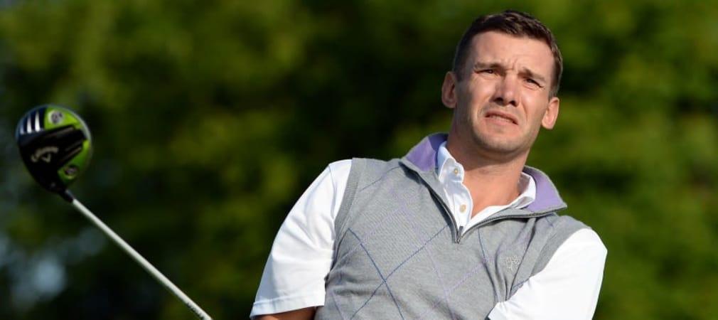 Andriy Shevchenko schlägt sich wacker
