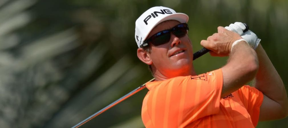 Lee Westwood bei der Maybank Malaysian Open 2014