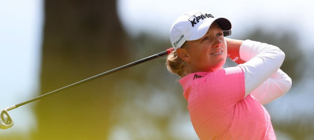 Stacy Lewis bei der Swinging Skirts LPGA Classic 2014