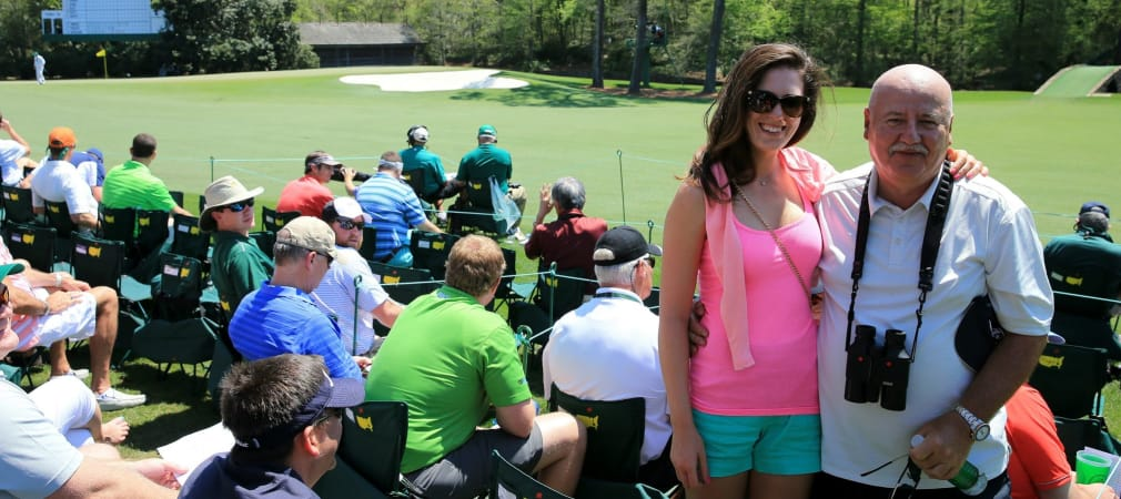 Zu Besuch beim Masters in Augusta: Sandra Gal.