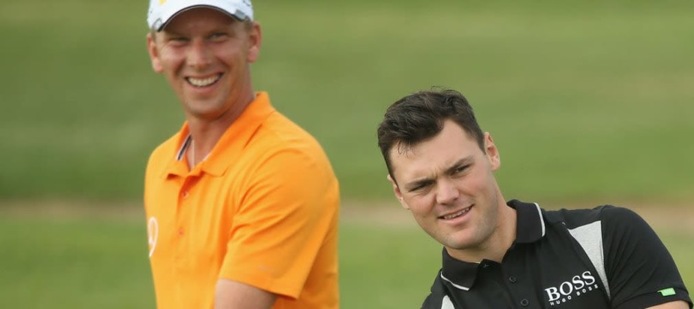 Marcel Siem hat gut Lachen! Bei der BMW PGA Championship erreichte er im Gleichschritt mit Martin Kaymer jeweils einen starken niedrigen Score am ersten Tag.