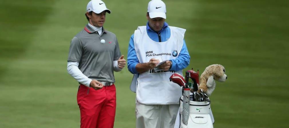 Blick ins Bag des BMW PGA Championship Siegers Rory McIlroy.