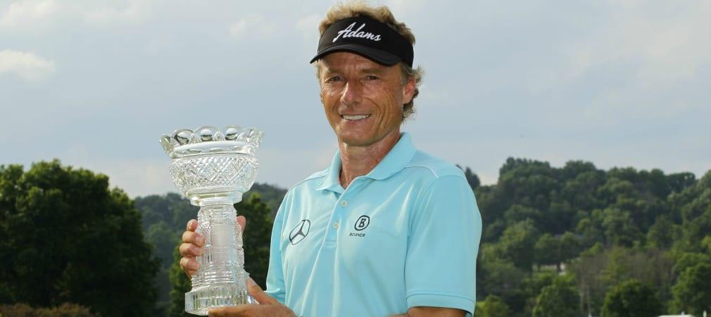 Bernhard Langer gewinnt die Senior PLAYERS Championship.