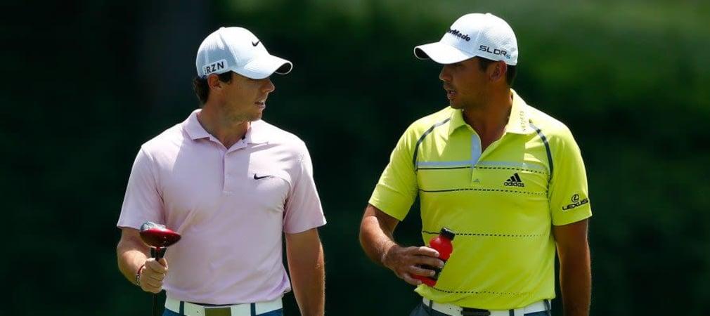 Rory McIlroy und Jason Day in einem Flight bei der PGA Championship 2014