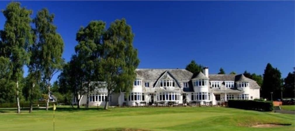 Der Blairgowrie Golf Club in Perthshire Scotland, wird Austragungsort des Ryder Cup 2014 und auch des Junior Ryder Cup 2014. (Foto: Getty)