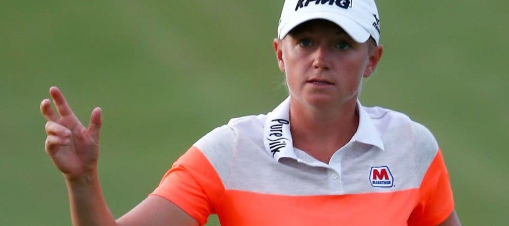 Stacy Lewis teilt sich zum Auftakt der Yokohama Tire LPGA Classic die Führung mit einer Südafrikanerin.
