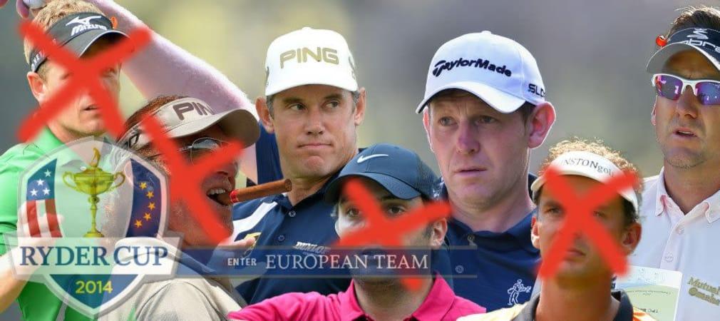 Paul McGinley hat sich für Stephen Gallacher, Ian Poulter und Lee Westwood als Captain's Picks zum Ryder Cup entschieden.