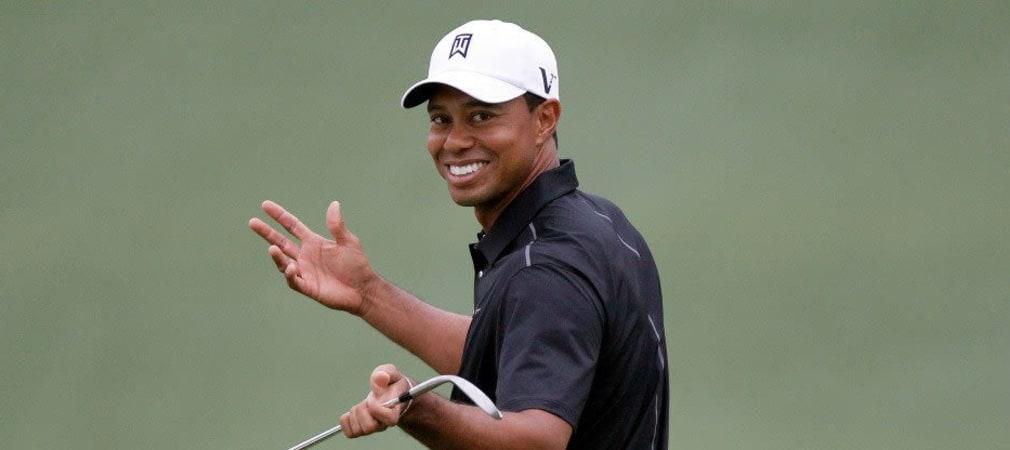 Neben dem Platz war er zuletzt deutlich öfter gut drauf, als drauf - Tiger Woods über seine Pläne. (Foto: Getty)