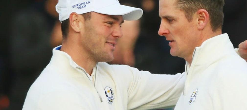Alte Bekannte: Martin Kaymer und Justin Rose spielen zum Auftakt der Abu Dhabi HSBC Golf Championship zusammen mit Titelverteidiger Pablo Larrazábal.