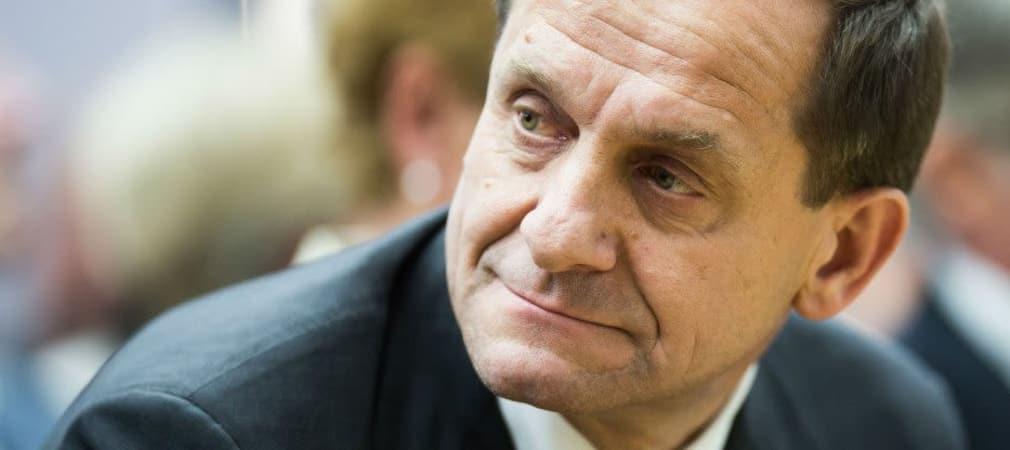 Alfons Hörmann ist seit 2013 Präsident des Deutschen Olympischen Sportbunds und damit auch für den Golfsport zuständig.