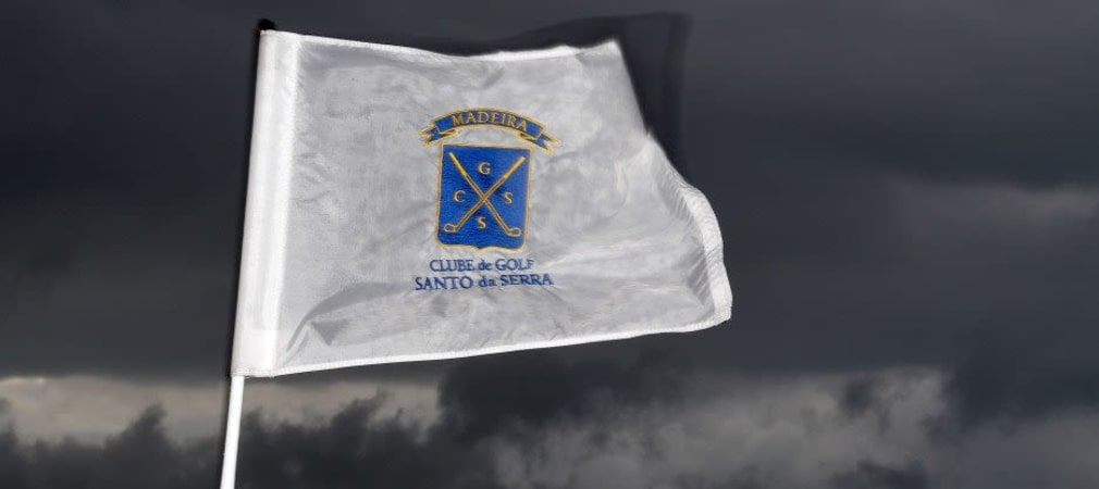 Schwarze Wolken versprechen ein turbulentes Turnierwochenende bei der Madeira Islands Open. (Foto: Getty)