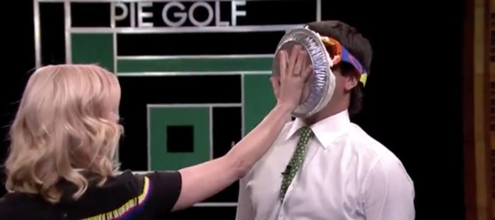 Bubba Watson Jimmy Fallon Tonight Show Tortengolf