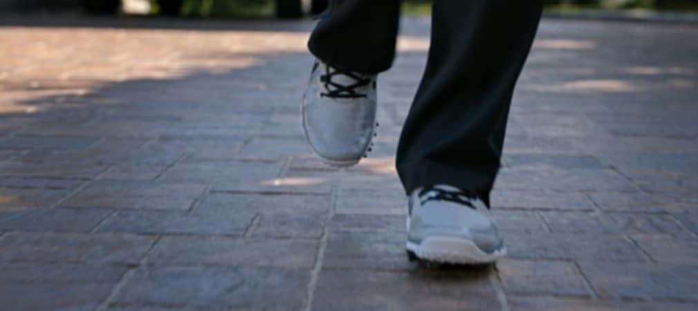 Die neuen Golfschuhe der Tiger-Woods-Reihe von Nike.