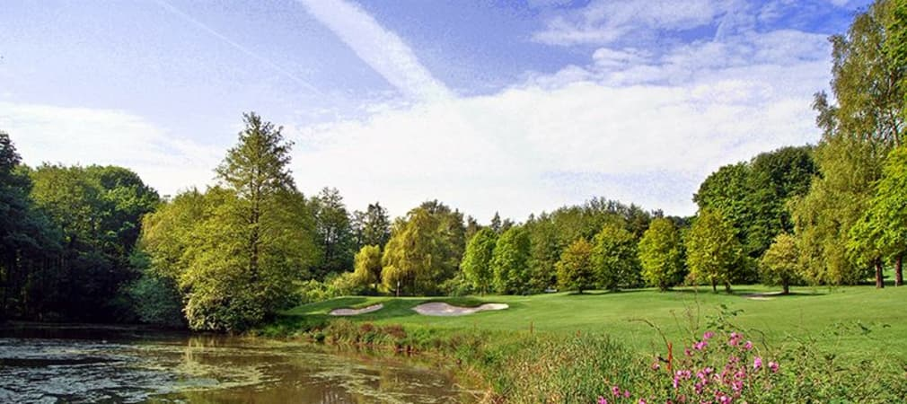 Loch 7 Championship-Course Golfclub Hubbelrath – Austragungsort der Europäischen Jungseniorenmeisterschaft 2015 (Foto: GC Hubbelrath)