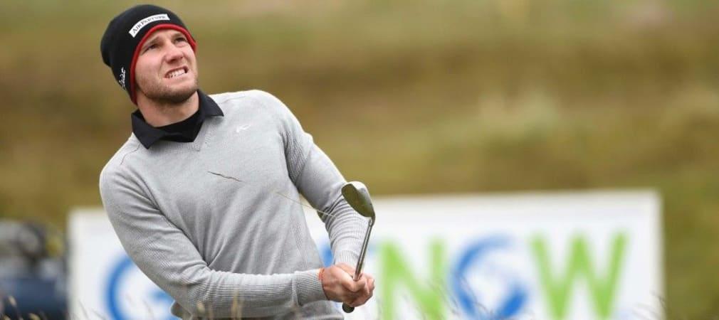 Maximilian Kieffer spielt am Moving Day der Irish Open eine 65er Runde und mischt vorne mit. (Foto: Getty)